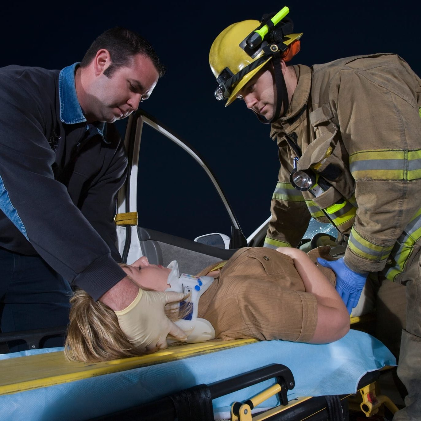 Car accident, auto accident, EMT, firefighter workers compensation personal injury
