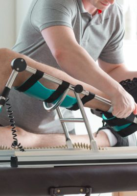 Knee replacement, knee surgery due to job injury, physical therapy, workers comp medical benefits